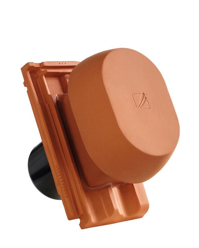 RUS SIGNUM keramischer Wrasenlüfter DN 150/160 mm inkl. Unterdachanschlussadapter