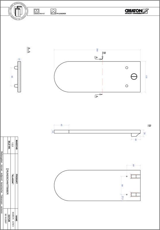 Produkt CAD-Datei KLASSIK Rundschnitt RUND-3-4