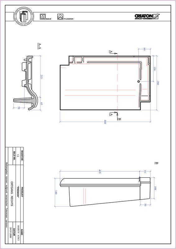 Produkt CAD-Datei PREMION Ortgang rechts OGR
