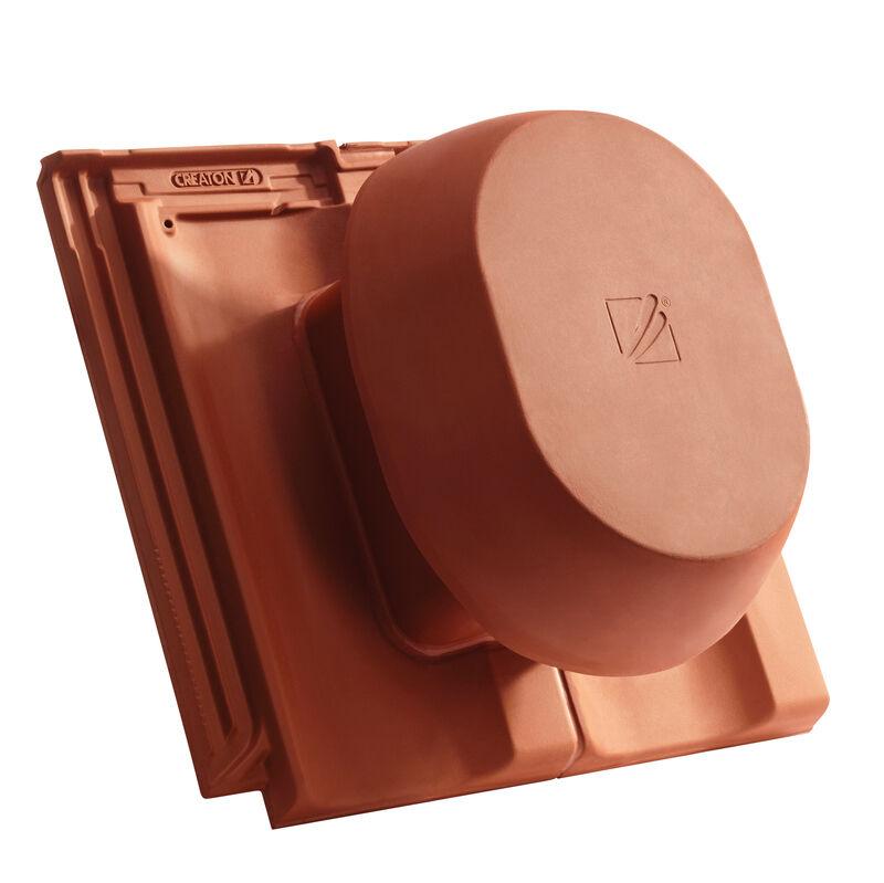 OPT SIGNUM keramischer Wrasenlüfter DN 200 mm inkl. Unterdachanschlussadapter