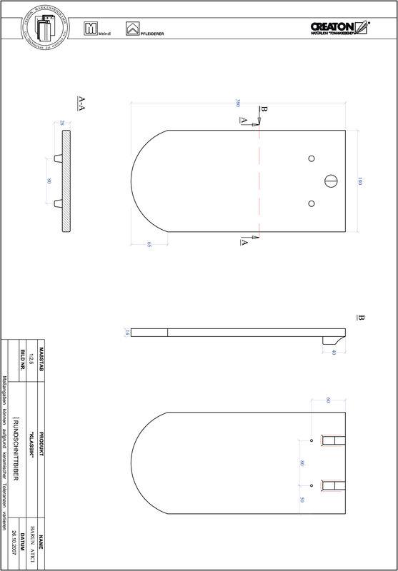 Produkt CAD-Datei KLASSIK Rundschnitt RUND-1-1