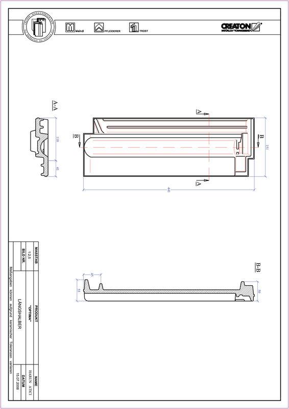 Produkt CAD-Datei TERRA OPTIMA Längshalber LH
