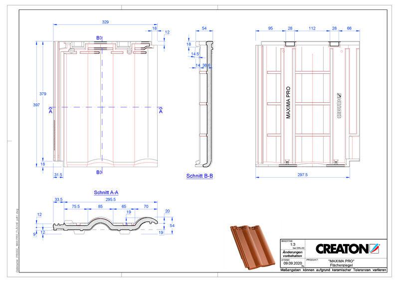 Produkt CAD-Datei MAXIMA PRO Fläche FLA