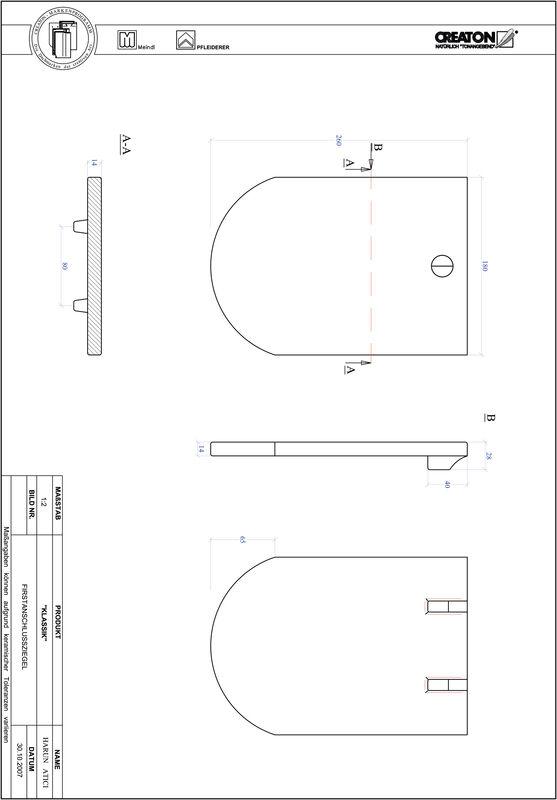 Produkt CAD-Datei KLASSIK Rundschnitt RUND-FAZ