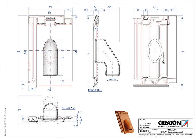Produkt CAD-Datei MIKADO Solar SOLAR