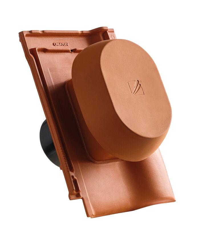 BAL SIGNUM keramischer Wrasenlüfter DN 150/160 mm inkl. Unterdachanschlussadapter