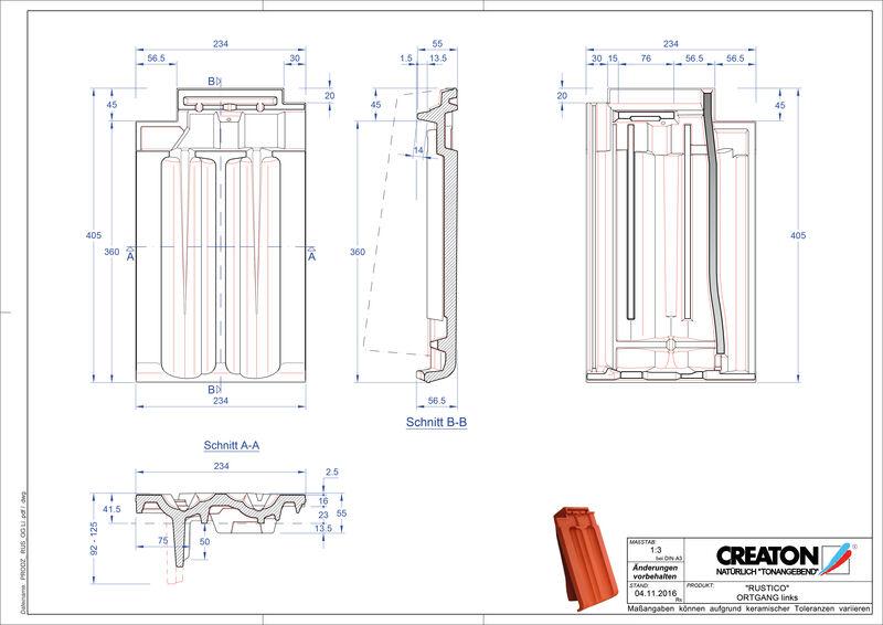 Produkt CAD-Datei RUSTICO Ortgang links OGL