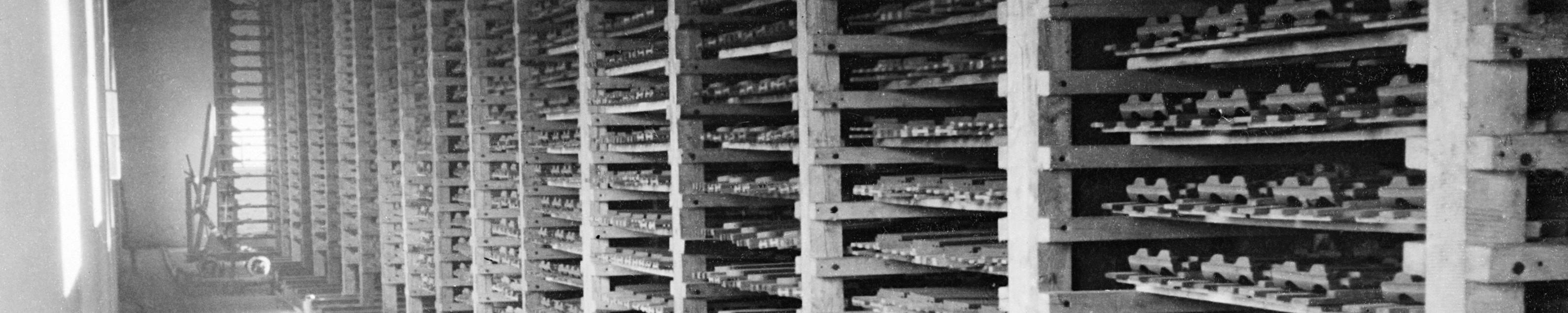 Historie Trockenkammer für Dachziegel
