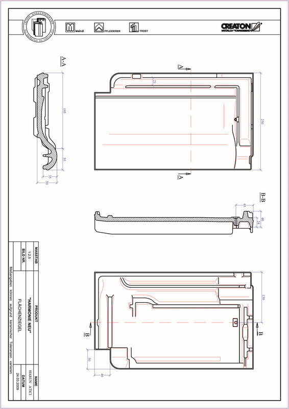 Produkt CAD-Datei HARMONIE Fläche FLA