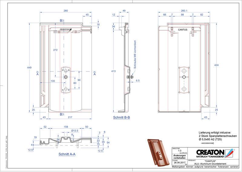 Produkt CAD-Datei CANTUS Grundalu GRUNDALU