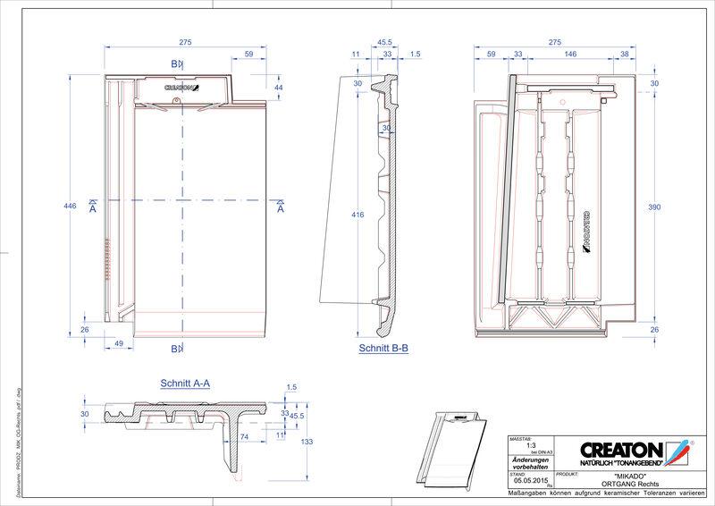Produkt CAD-Datei MIKADO Ortgang rechts OGR