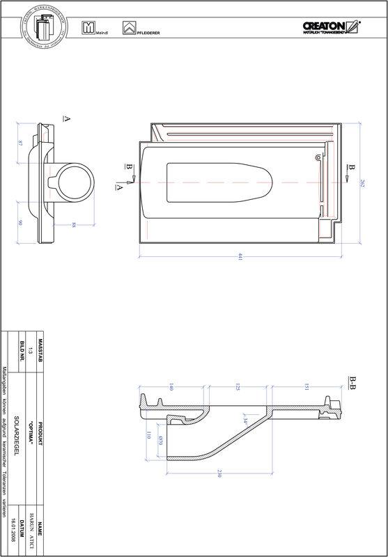 Produkt CAD-Datei TERRA OPTIMA Solar SOLAR