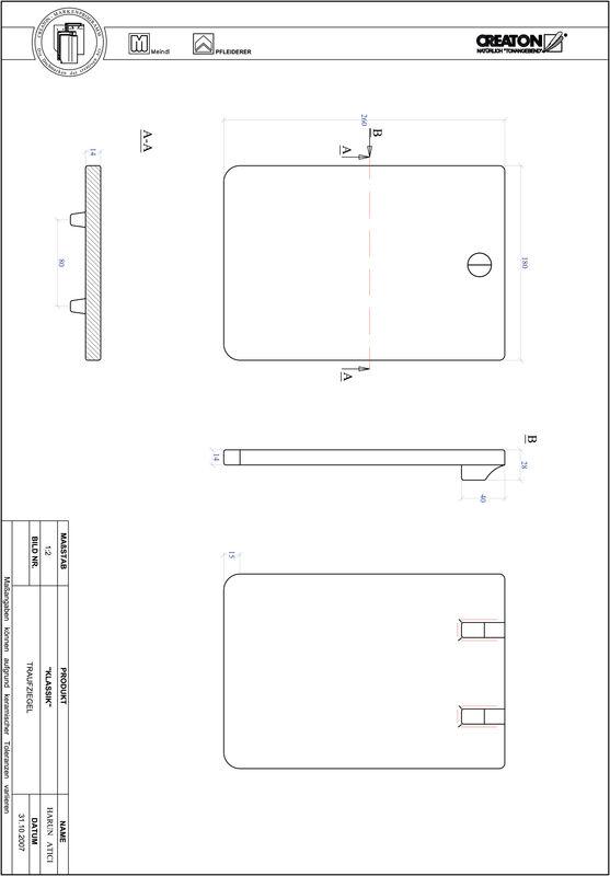 Produkt CAD-Datei KLASSIK Rundschnitt RUND-TRAUFZIEGEL