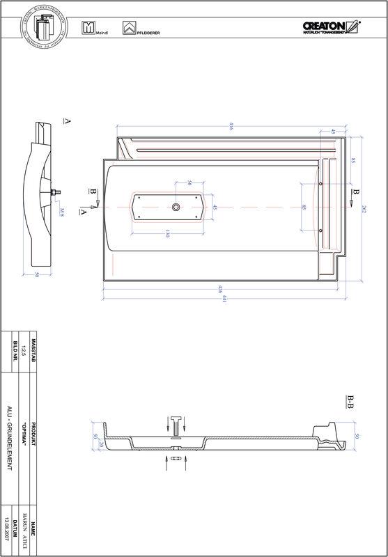 Produkt CAD-Datei TERRA OPTIMA Grundalu GRUNDALU