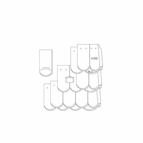 Produkt technische Zeichnung KLASSIK OGAusbildung-Kronendeckung-mit-OG-3-4-1-1-4