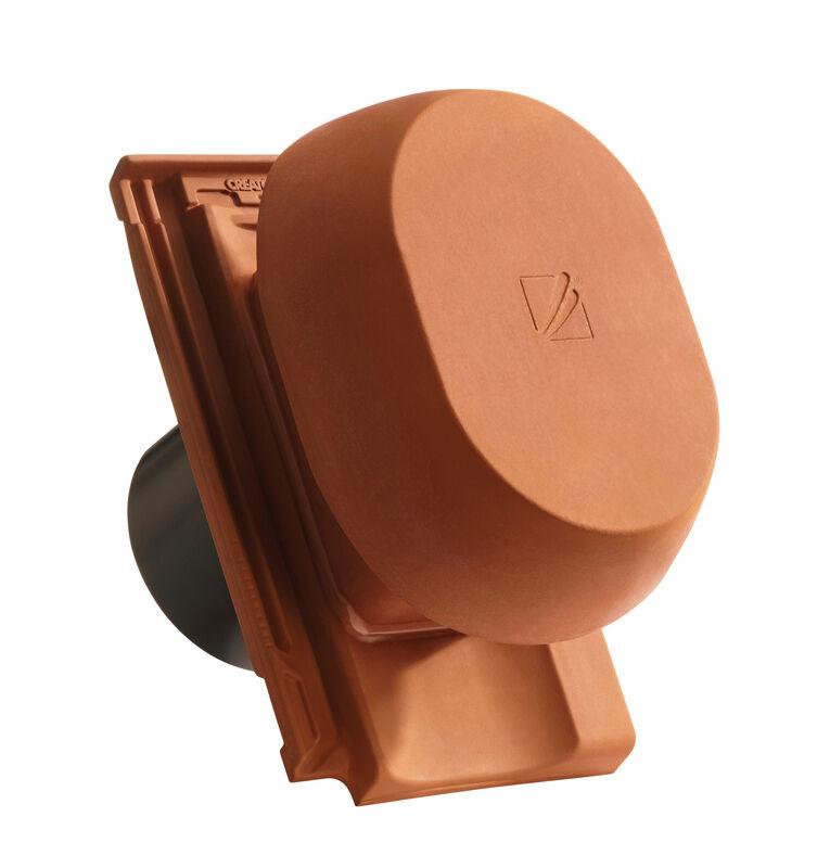 CAN SIGNUM keramischer Wrasenlüfter DN 200 mm inkl. Unterdachanschlussadapter