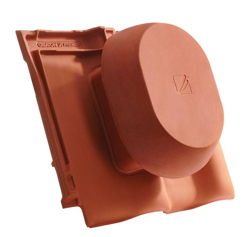 PRE SIGNUM keramischer Wrasenlüfter DN 200 mm inkl. Unterdachanschlussadapter