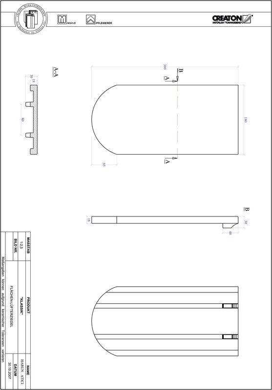 Produkt CAD-Datei KLASSIK Rundschnitt RUND-FLUEFTZ