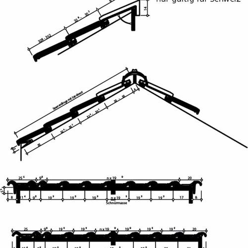 Produkt technische Zeichnung HARMONIE Schweiz HARMONIE