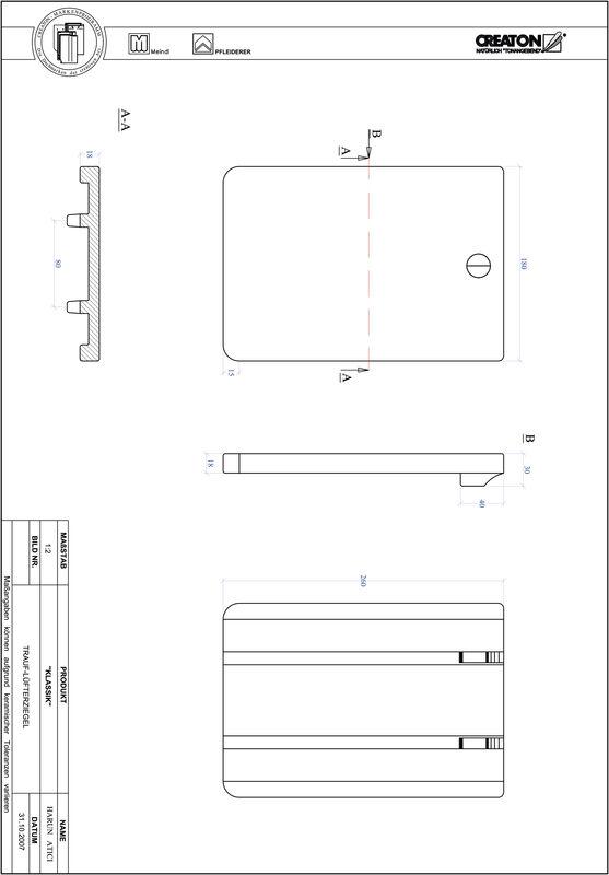 Produkt CAD-Datei KLASSIK Rundschnitt RUND-TRAUF-LUEFTZ