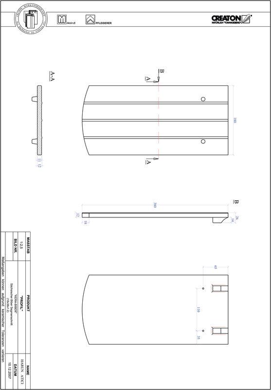 Produkt CAD-Datei PROFIL Segmentschnitt KERA-SAECHS-18-CM-1-1