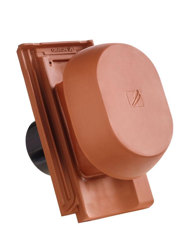 OPT SIGNUM keramischer Wrasenlüfter DN 150/160 mm inkl. Unterdachanschlussadapter