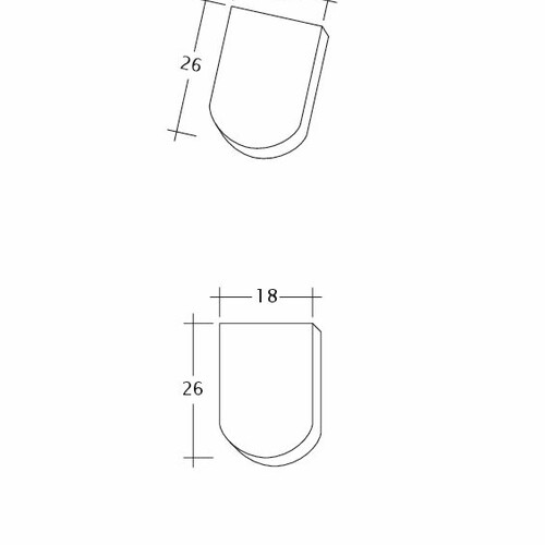 Produkt technische Zeichnung KLASSIK Firstanschluss