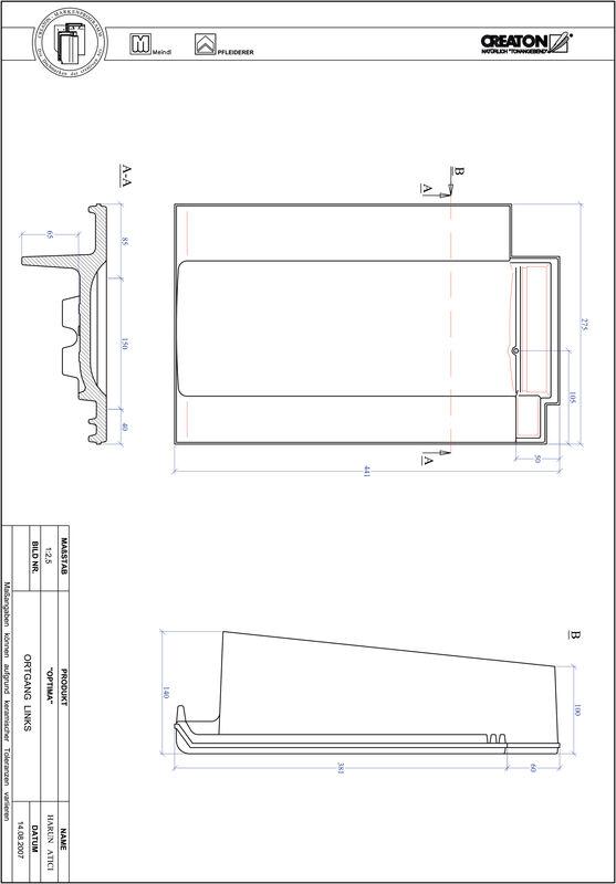 Produkt CAD-Datei TERRA OPTIMA Ortgang links OGL