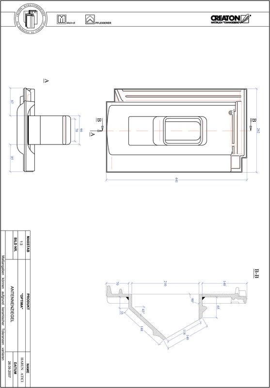 Produkt CAD-Datei TERRA OPTIMA Antenne ANTENNE