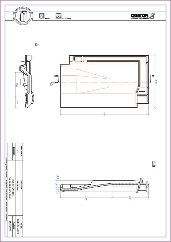 Produkt CAD-Datei PREMION Lüfterziegel LUEFTZ