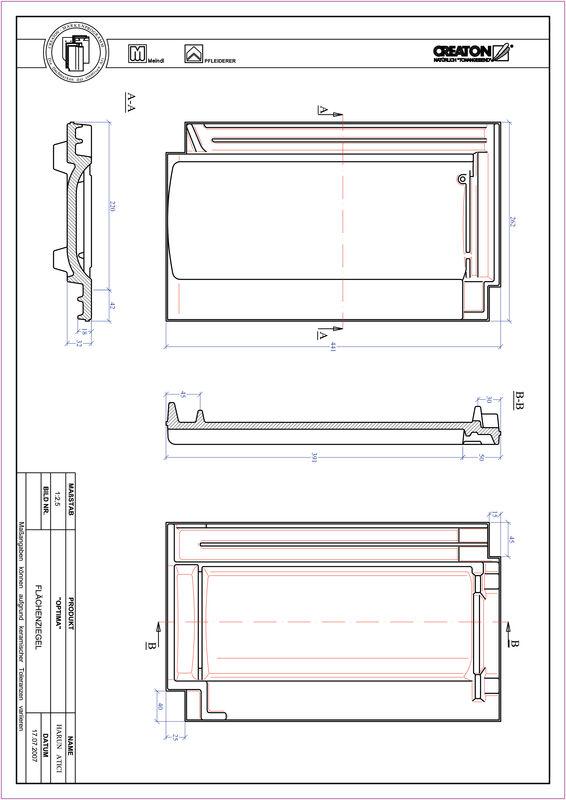 Produkt CAD-Datei TERRA OPTIMA Fläche FLA