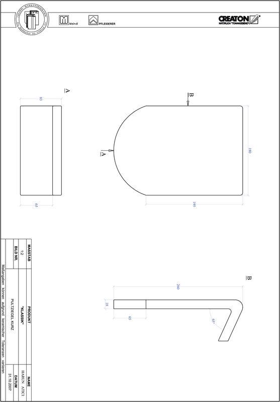 Produkt CAD-Datei KLASSIK Rundschnitt RUND-PULT-kurz1