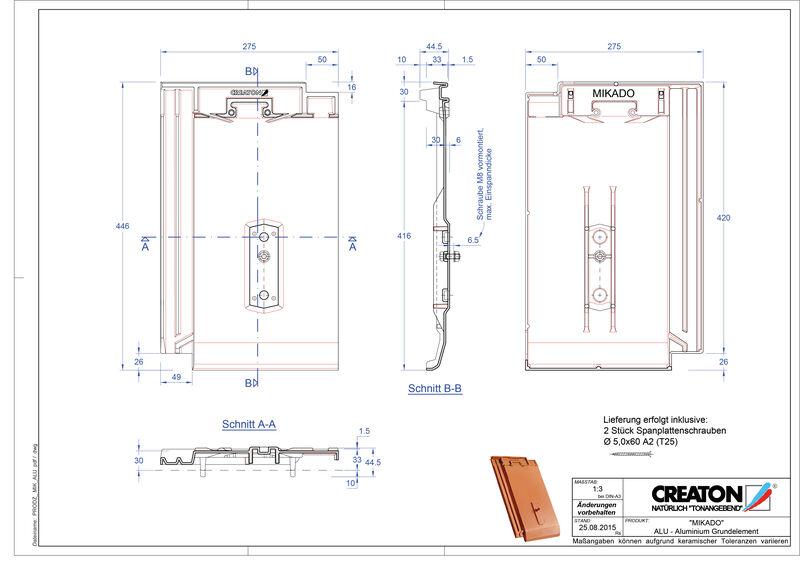 Produkt CAD-Datei MIKADO Grundalu GRUNDALU