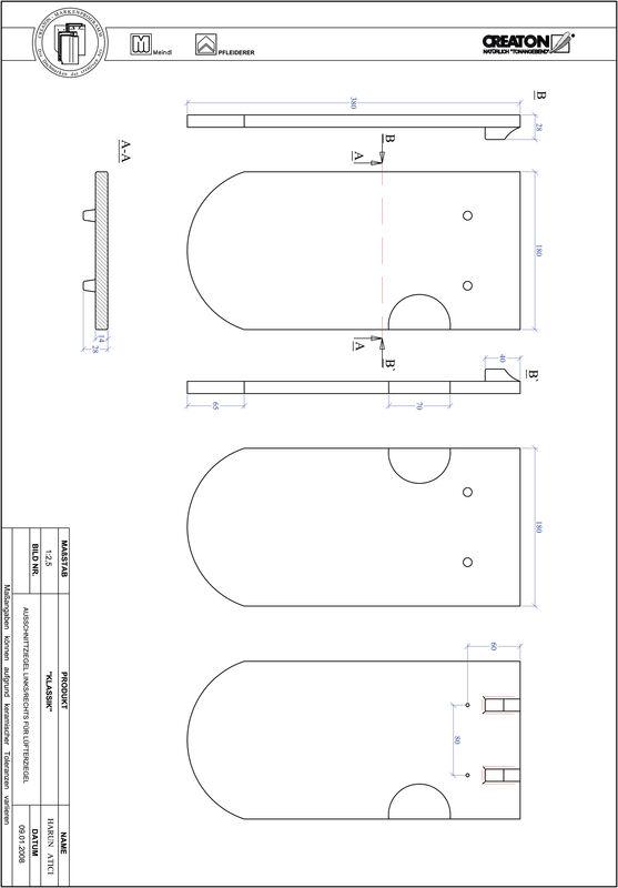 Produkt CAD-Datei KLASSIK Rundschnitt RUND-AUSSCHNITT-LUEFTZ