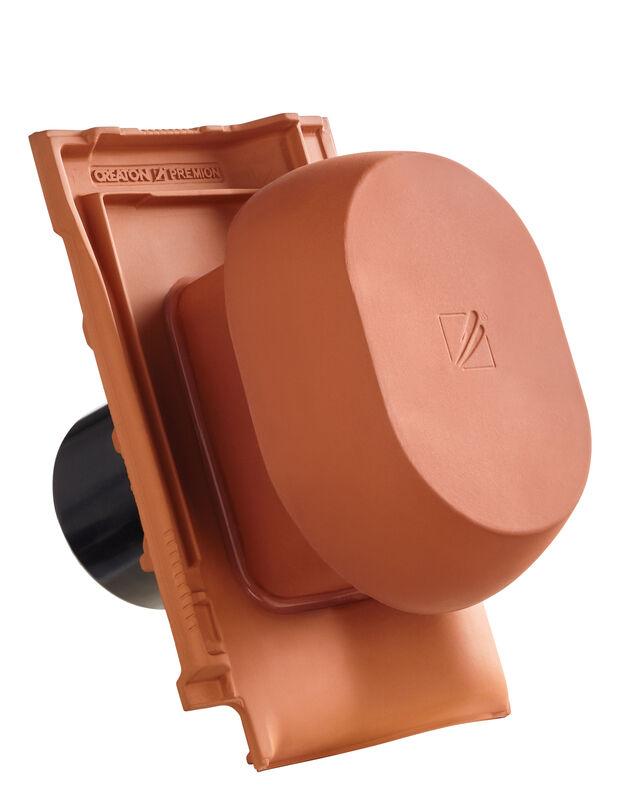 PRE SIGNUM keramischer Wrasenlüfter DN 150/160 mm inkl. Unterdachanschlussadapter
