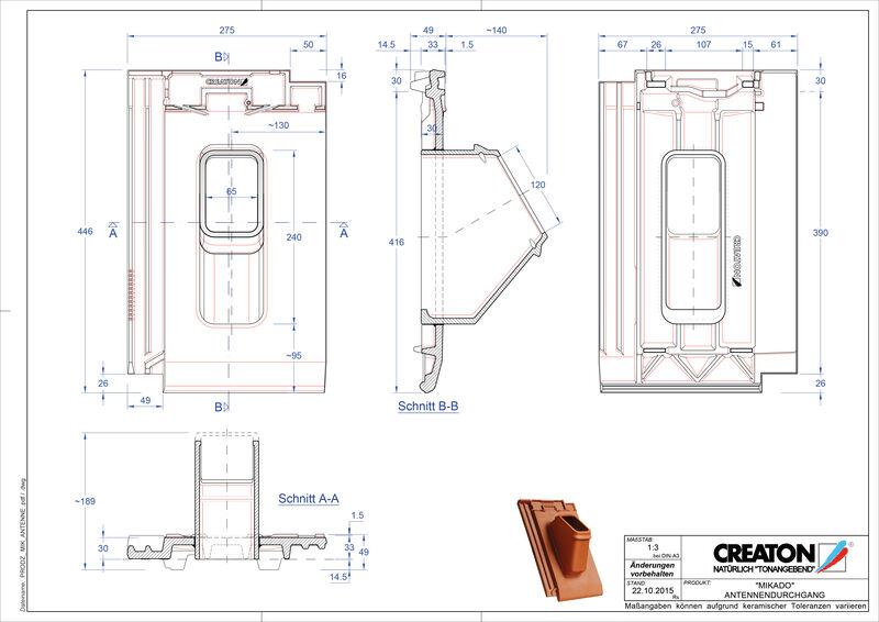 Produkt CAD-Datei MIKADO Antenne ANTENNE