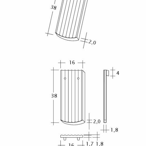 Produkt technische Zeichnung PROFIL Berliner-Seg-1-1