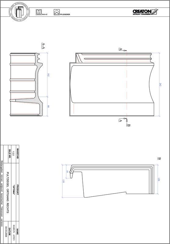 Produkt CAD-Datei TERRA OPTIMA Pultziegel Ortgang rechts PULTOGR