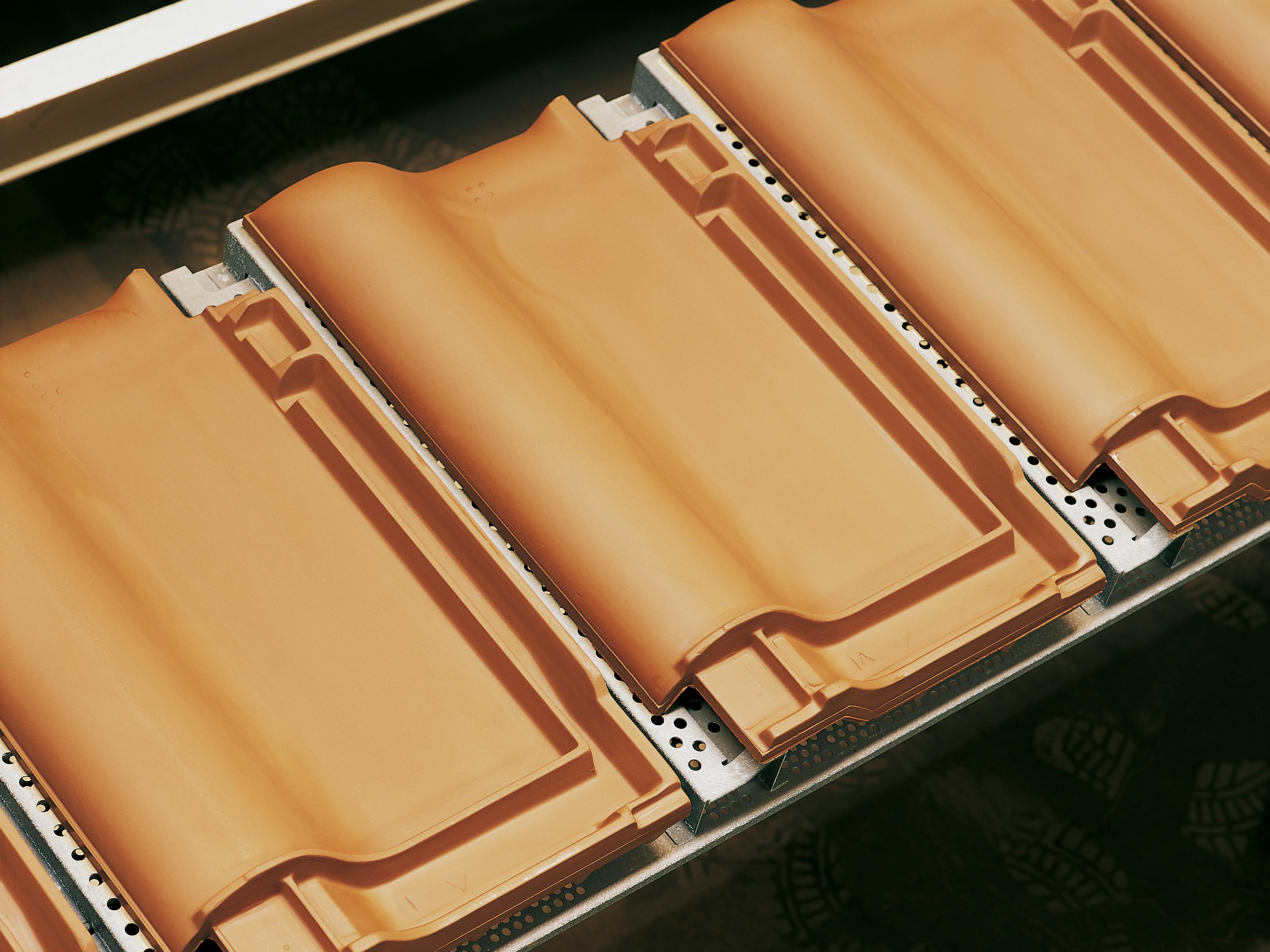 Produktionslinie Dachziegel