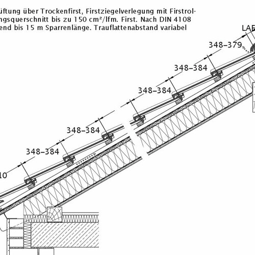 Produkt technische Zeichnung CANTUS DQL DQL