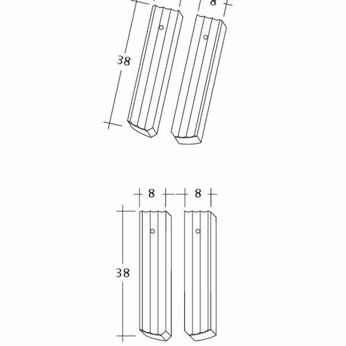 Produkt technische Zeichnung PROFIL Berliner-Seg-1-2