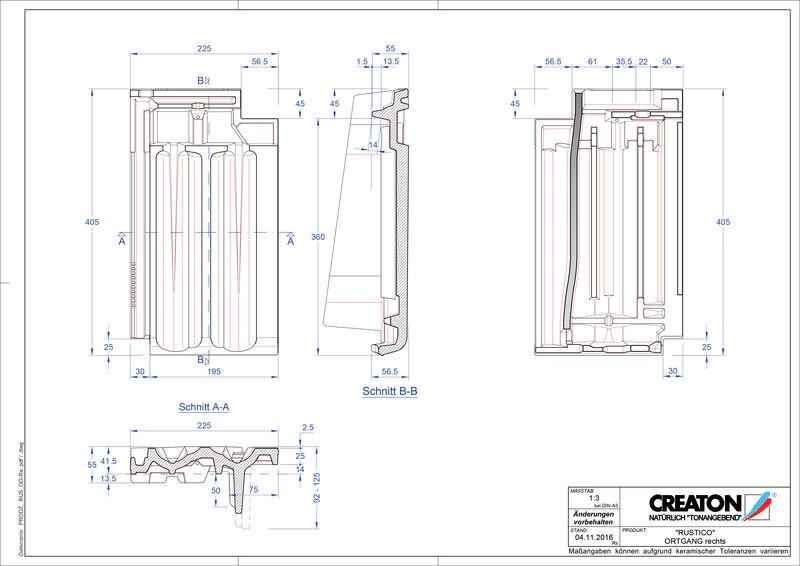 Produkt CAD-Datei RUSTICO Ortgang rechts OGR